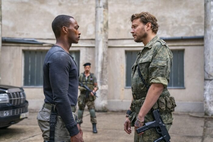 Leo confronts Viktor Koval