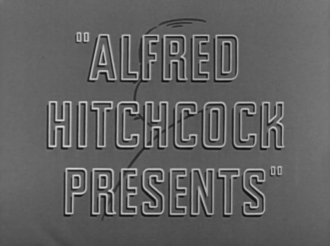 title card for Alfred Hitchcock Presents