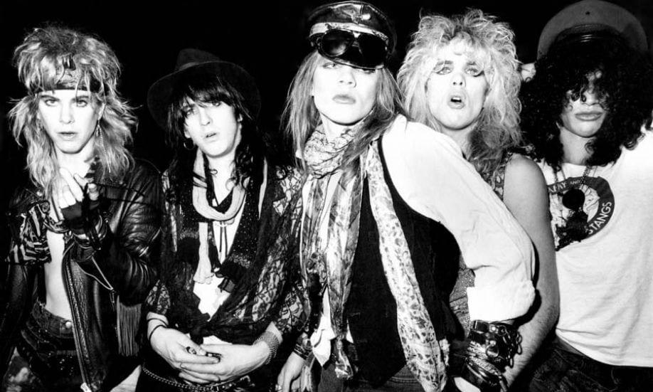 guns n roses in the 80s