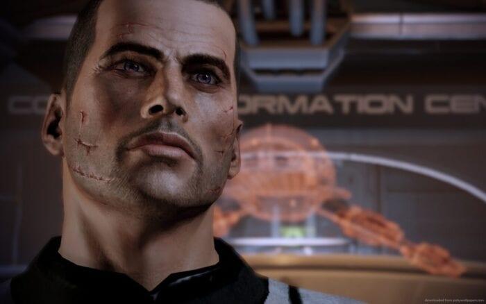 Commander Shepard in Mass Effect