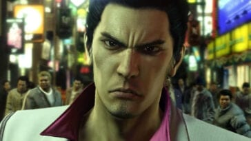Closeup of Kazuma Kiryu
