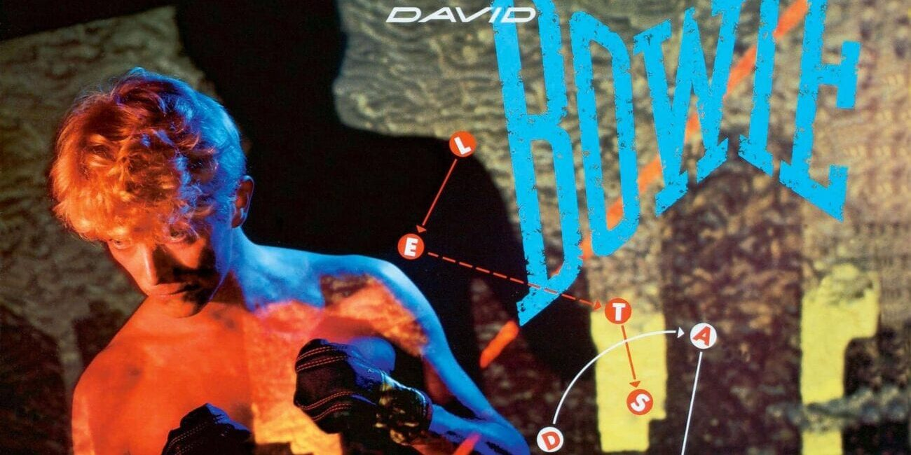 Album cover of Lets Dance by David Bowie