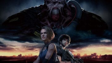 Cover art for Resident Evil 3 remake