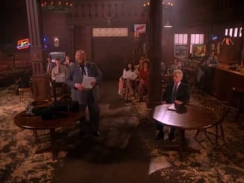 The Kangaroo Court among the tables of The Roadhouse