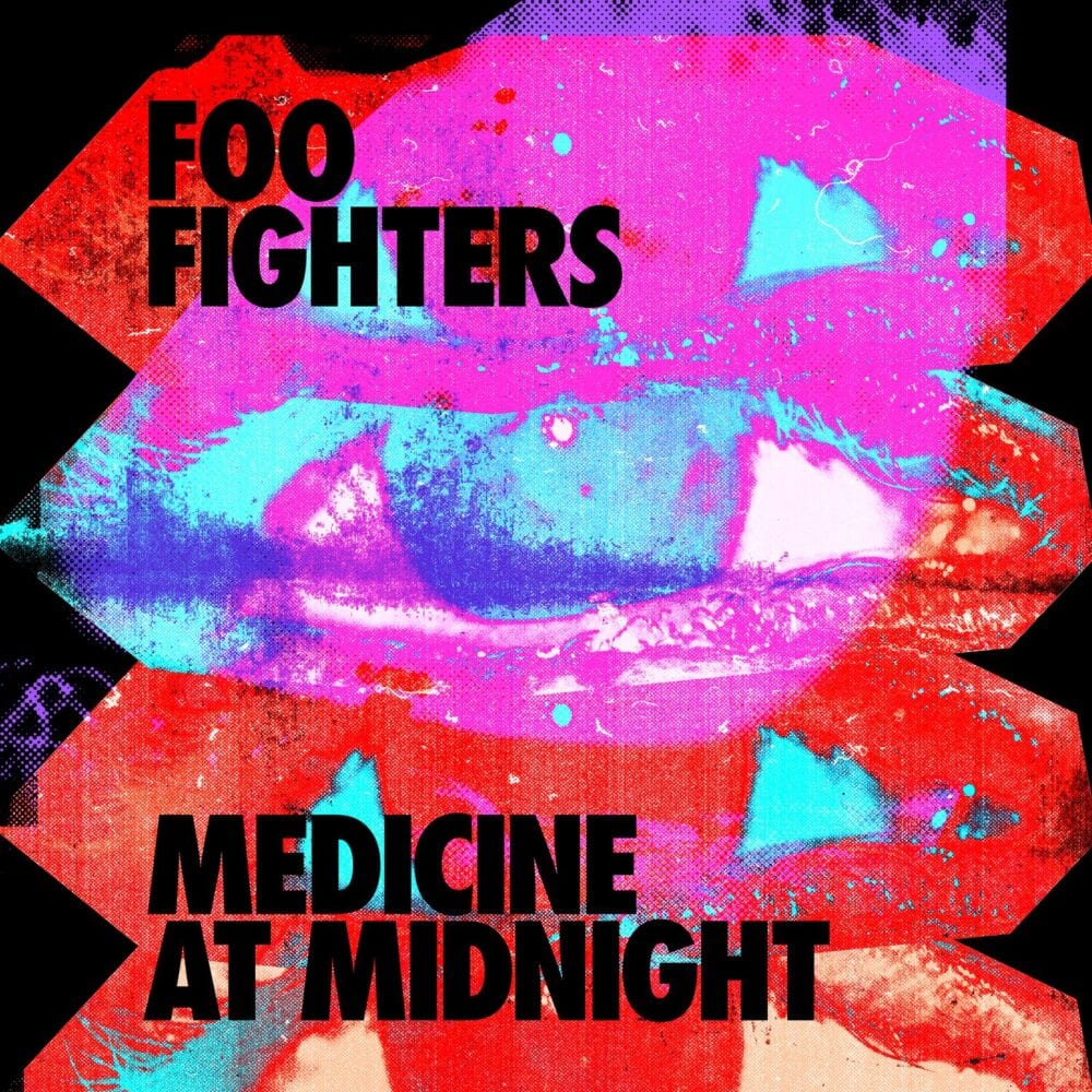 medicine at midnight album cover foo fighters