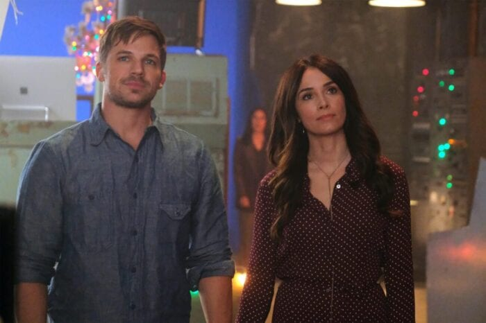 """One final mission for Wyatt (Matt Lanter) and Lucy (Abigail Spencer) in """"The Miracle of Christmas"""""""
