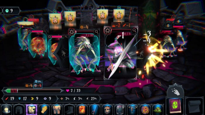 Gameplay of Ring of Pain