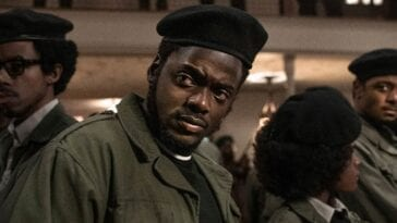 Daniel Kaluuya in Judas and the Black Messiah