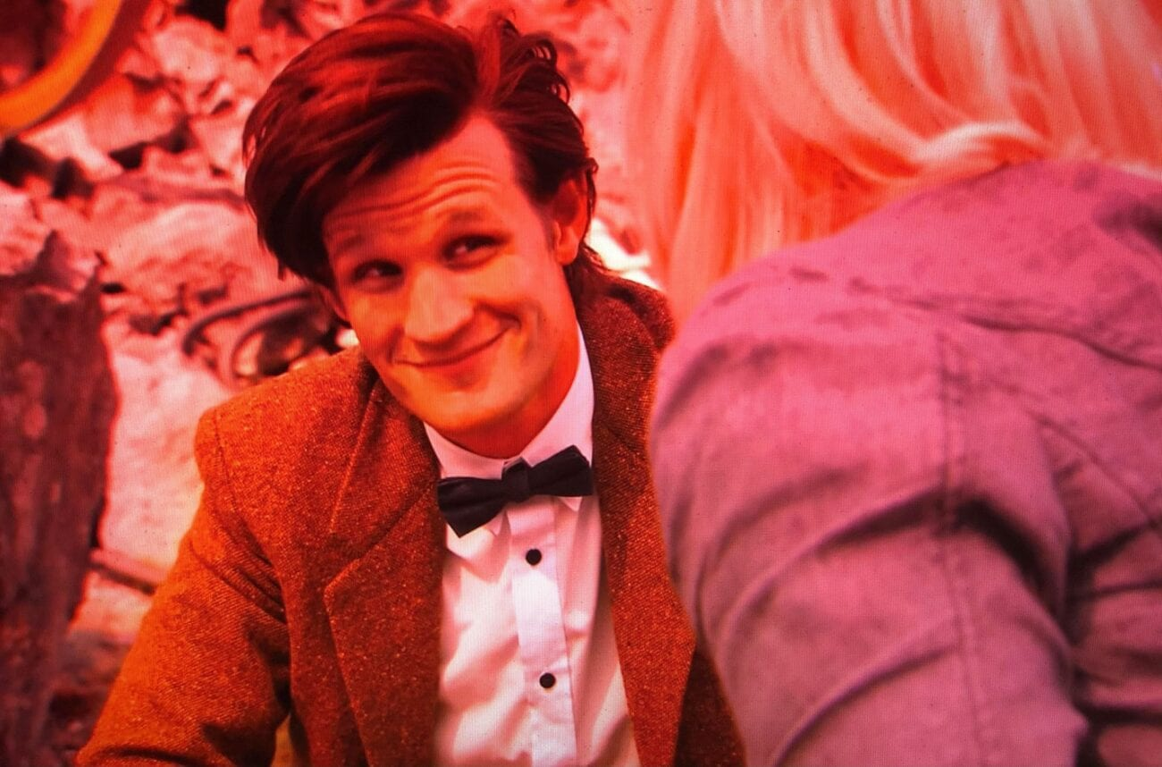 The Doctor smiling at Jo