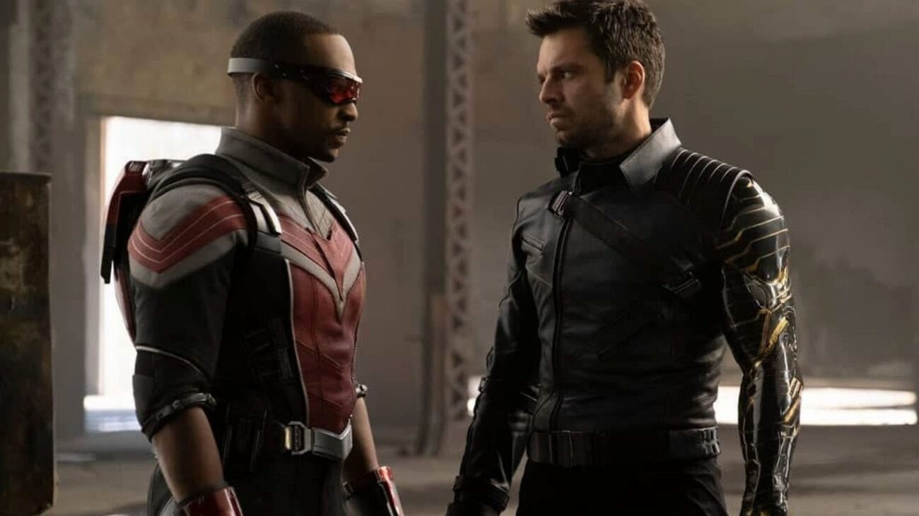 Sam Wilson and Bucky Barnes exchanged glances