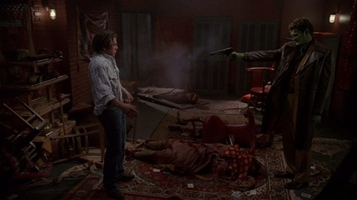 Lorne shoots Lindsey in the show's finale, killing him