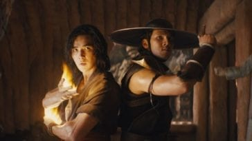 Liu Kang and Kung Lao prepare to fight