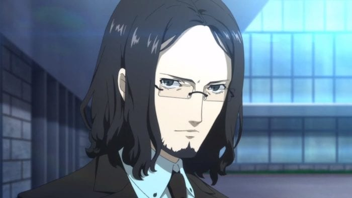 This picture shows Zenkichi Hasegawa from Persona 5 Strikers