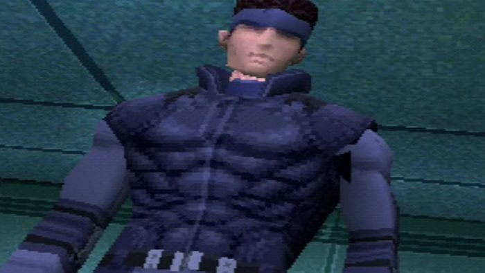 Solid Snake in the original Metal Gear Solid