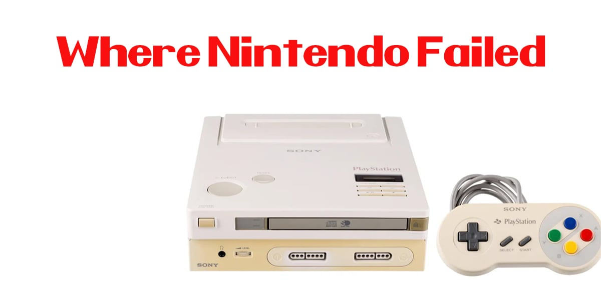 Behold the Nintendo Playstation!