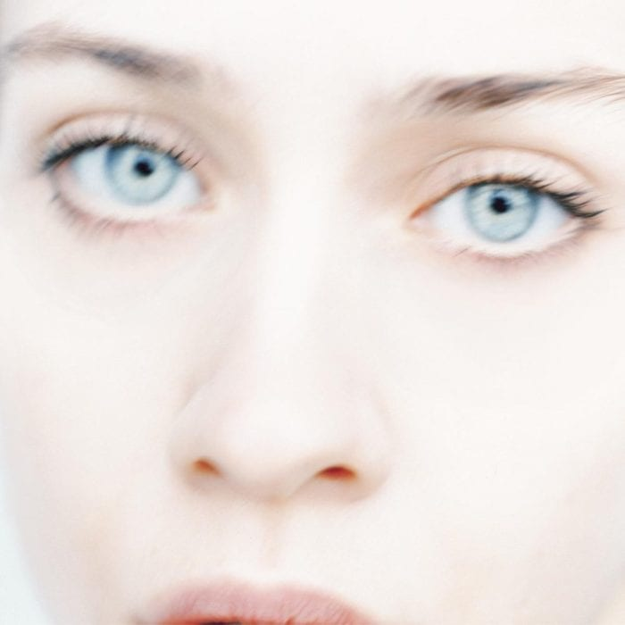 Fiona Apple's face on the cover of Tidal