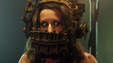 Amanda finds herself caught in the reverse bear trap.