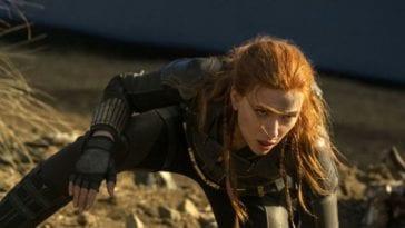 Black Widow works to climb back to her feet.
