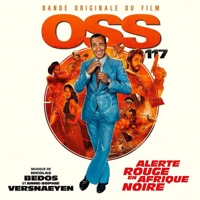 Cover to the soundtrack OSS 117: Red alert in Black Africa
