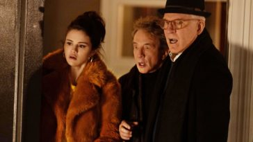 Steve Martin, Selena Gomez and Martin Short look stunned in Only Murders in the Building