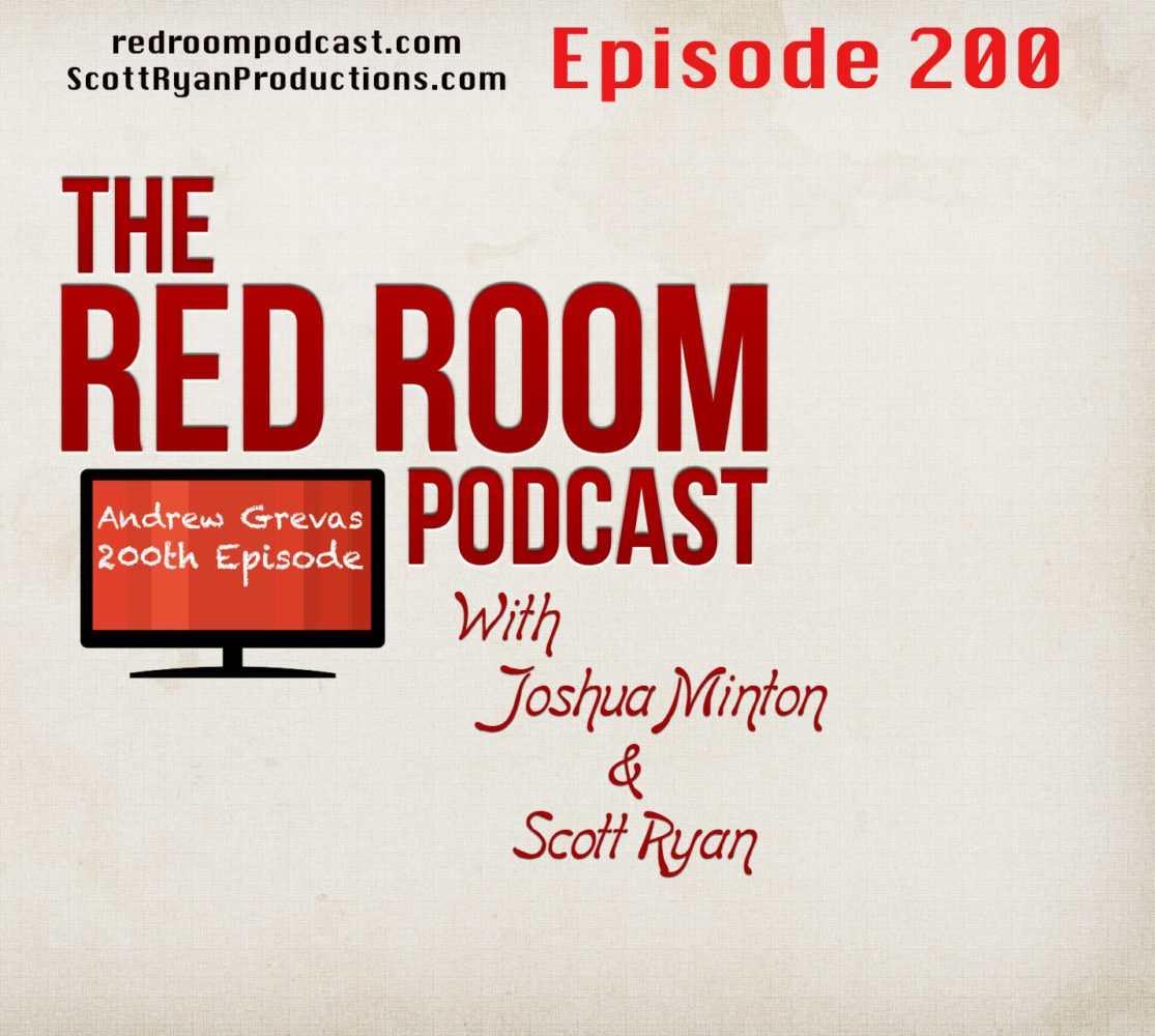 The Red Room Podcast Episode 200 cover art
