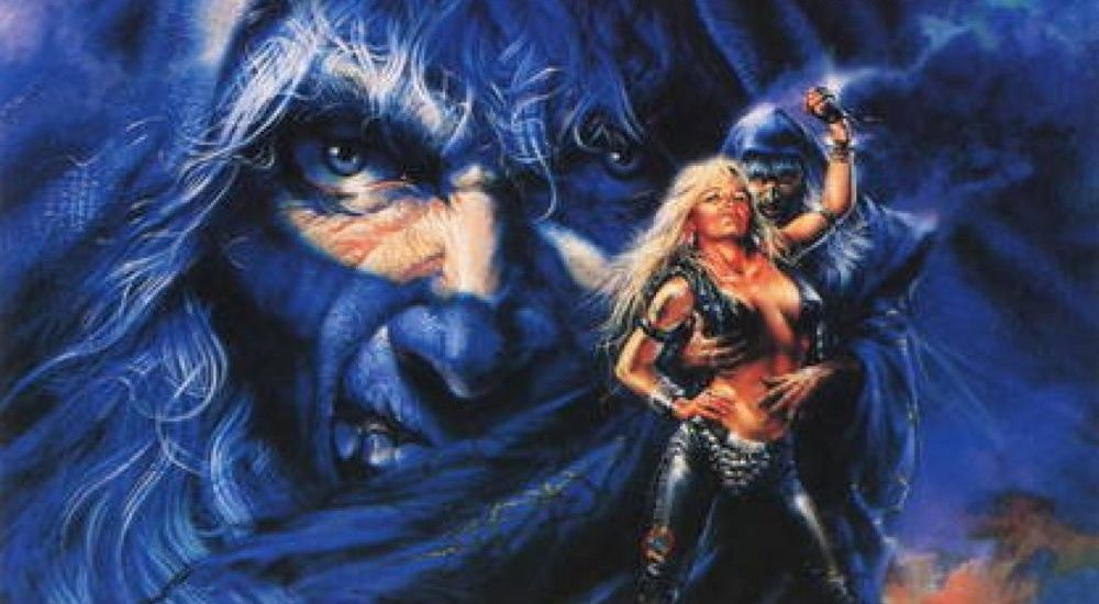 Doro Pesch And Warlock 'Triumph And Agony Live' Album Front Cover