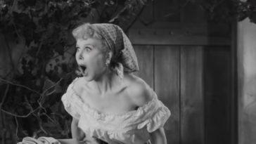 Nicole Kidman does her best Lucille Ball impression as she enters a vat of grapes in Being the Ricardos