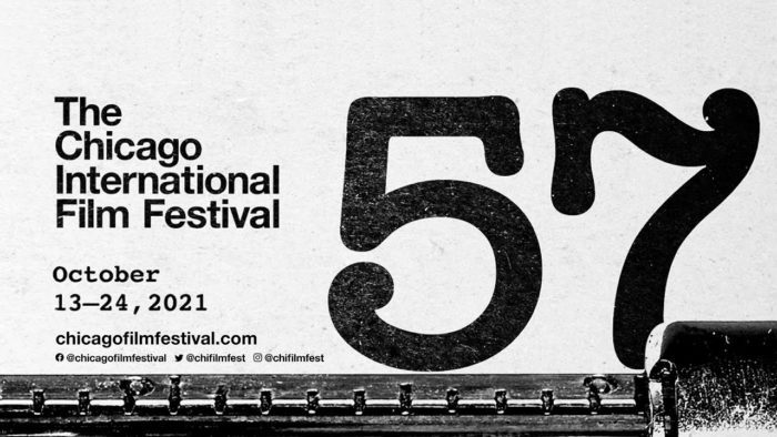 The official logo for the 57th Chicago International Film Festival